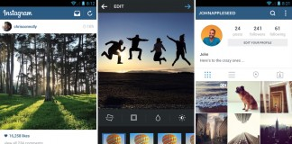 Instagram design nou