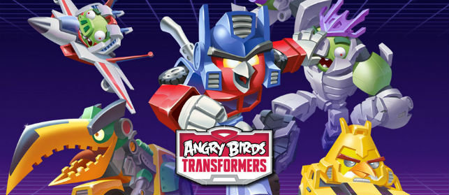 Angry Birds Transformers aduce Autobirds si Deceptihogs
