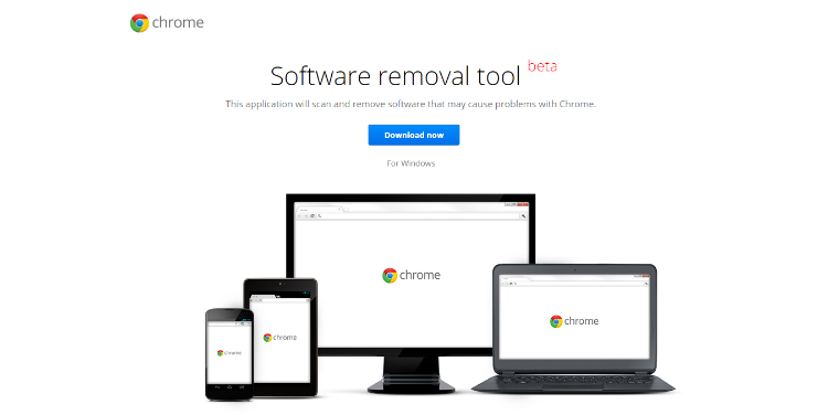 Software Removal si Browser Reset pentru Chrome