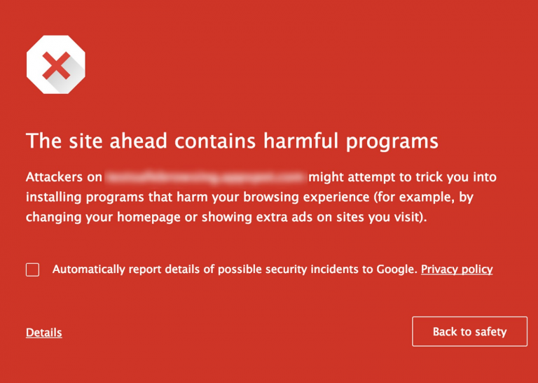 "Google Safe Browsing te protejeaza de butoanele ""Download"""